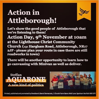 Next action day Attleborough