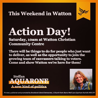 Watton Action Day Saturday 16